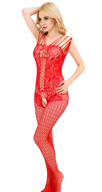 Bodystocking Avenue Multi Shoulder Strap Lace