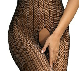Fishnet Bodystocking Feature