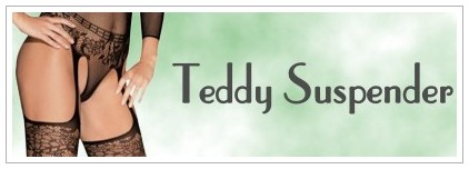 Teddy Suspender Bodystockings