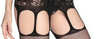 Cami Suspender Bodystocking Feature