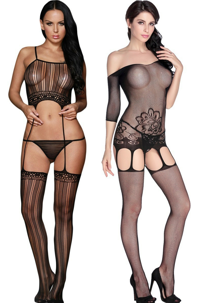 Cami Suspender Bodystocking